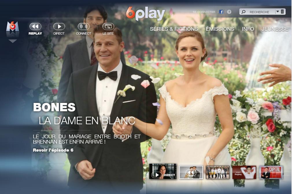 6play.fr M6Replay Vidéos des programmes TV M6 replay direct Ncis ice show