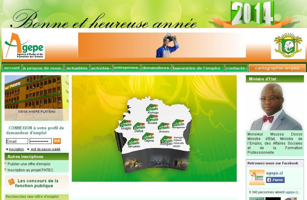 agepe ci   agence d u0026 39  u00e9tude et de promotion de l u0026 39 emploi cote d u0026 39 ivoire offres cadres stage