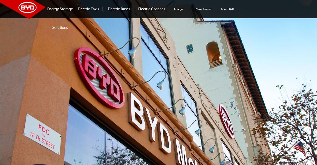 byd.com Automobile Build Your Dreams Voiture Electrique Batterie byd chinois algérie facilité سيارة