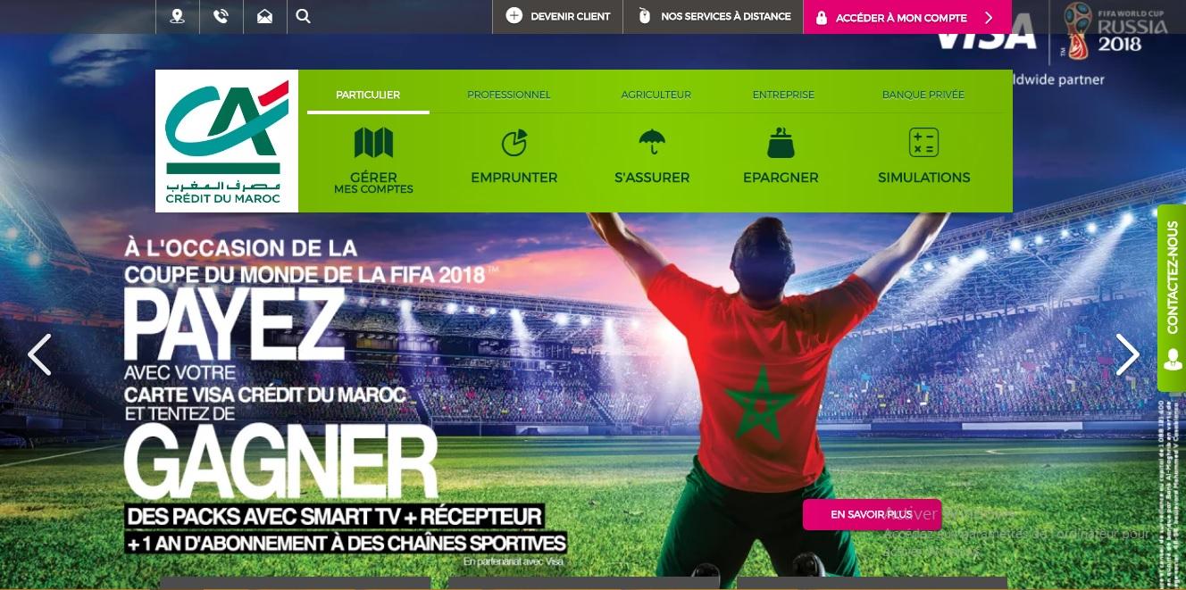 cdm.co.ma Banque Crédit du Maroc en ligne