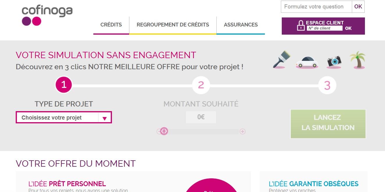 cofinoga.fr mon compte crédit à la consommation en France Crédit et prêt personnel et rachat de crédit