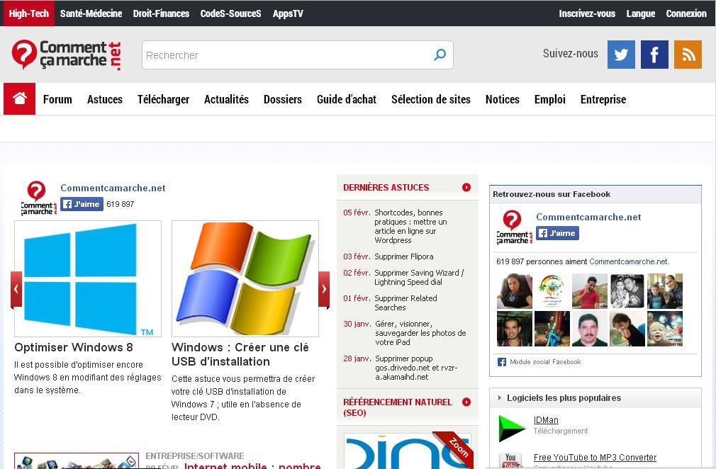 commentcamarche.net Forum Comment ça Marche Download informatique télécharger logiciel