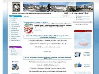 cuniv-khenchela.edu.dz Université Abbas Laghrour Khenchela Algérie
