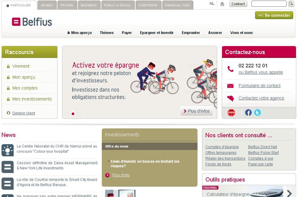 dexia.be Dexia Bank Belgique Belfius Banque cours action
