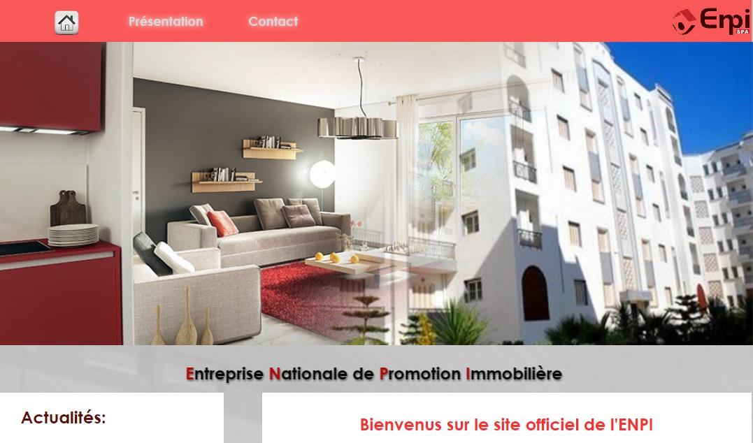 enpi.dz Entreprise Nationale de Promotion Immobilière en Algérie المؤسسة الوطنية للترقية العقارية Aadl Lpp Lkéria inscription affectation et préaffectation