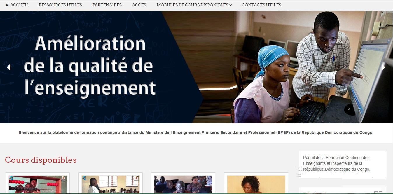 foad-epsp.org Formation Continue des Enseignants et Inspecteurs de la République Démocratique du Congo de la RDC
