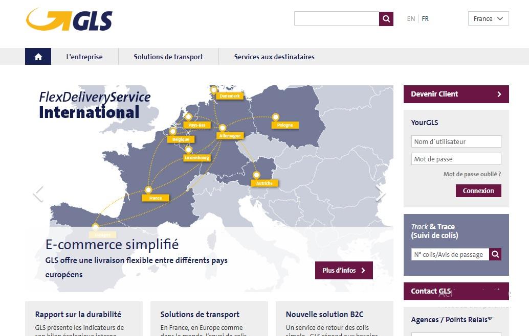 gls-group.eu Transport Suivi gls et Livraison des colis General Logistic Systems envoi contact et numéro