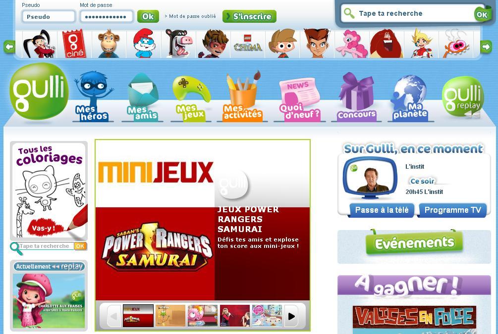 gulli.fr Jeu replay guli .fr jeux concours jeu my little pony jeux de Gully championne à tout prix lego