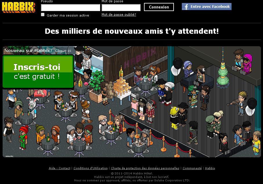 Habbix jeu avatar appartement hotel code jeton - Cola hotel cree ton avatar decore ton appart ...