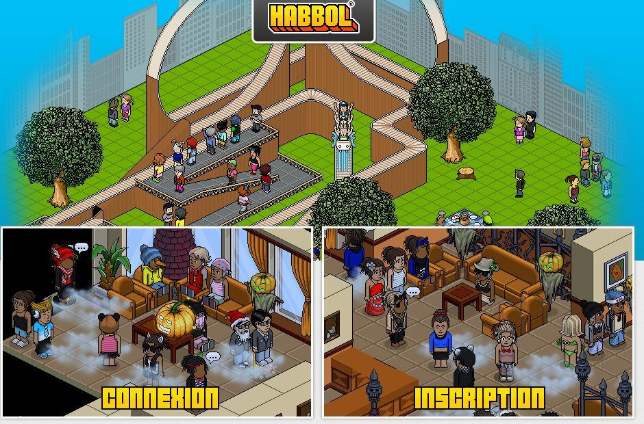habbol.fr Jeux d'appartement Habbol Hôtel créer ton avatar