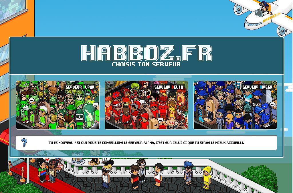 habboz.fr Jeux Alpha Omega Delta Gazette Habbo Hotel Abbo