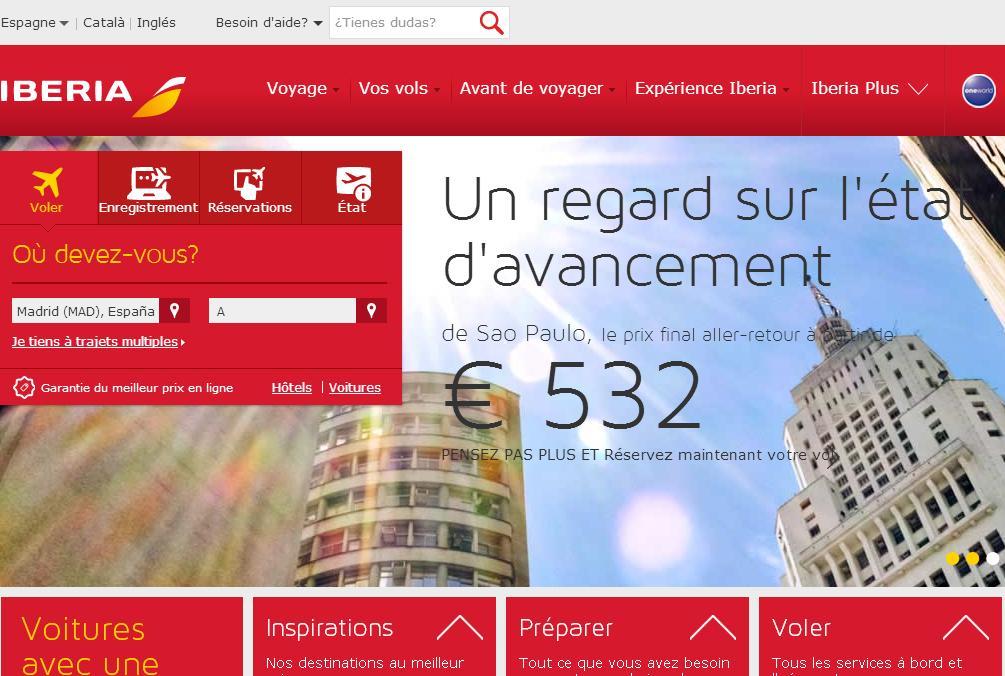 iberia.com Plus espana express bagages vols ibéria billets d'avion pas cher enregistrement bagages france maroc