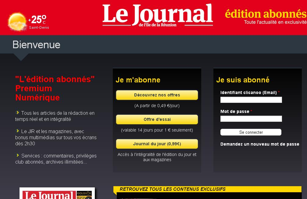 jir.re Journal de l'île de la Réunion Re
