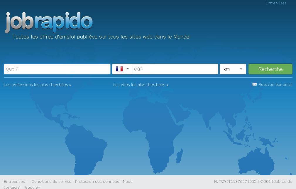 jobrapido.com Annonce d'emploi Job Rapido travail concours recrutement