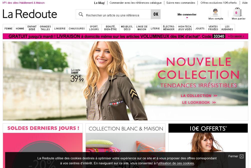 laredoute.fr Boutique La Redoute Soldes Occasion Chaussures Manteau