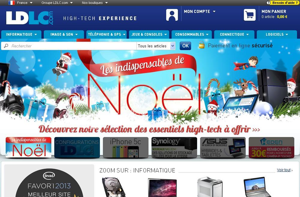 ldlc.com Boutique en Ligne High-Tech