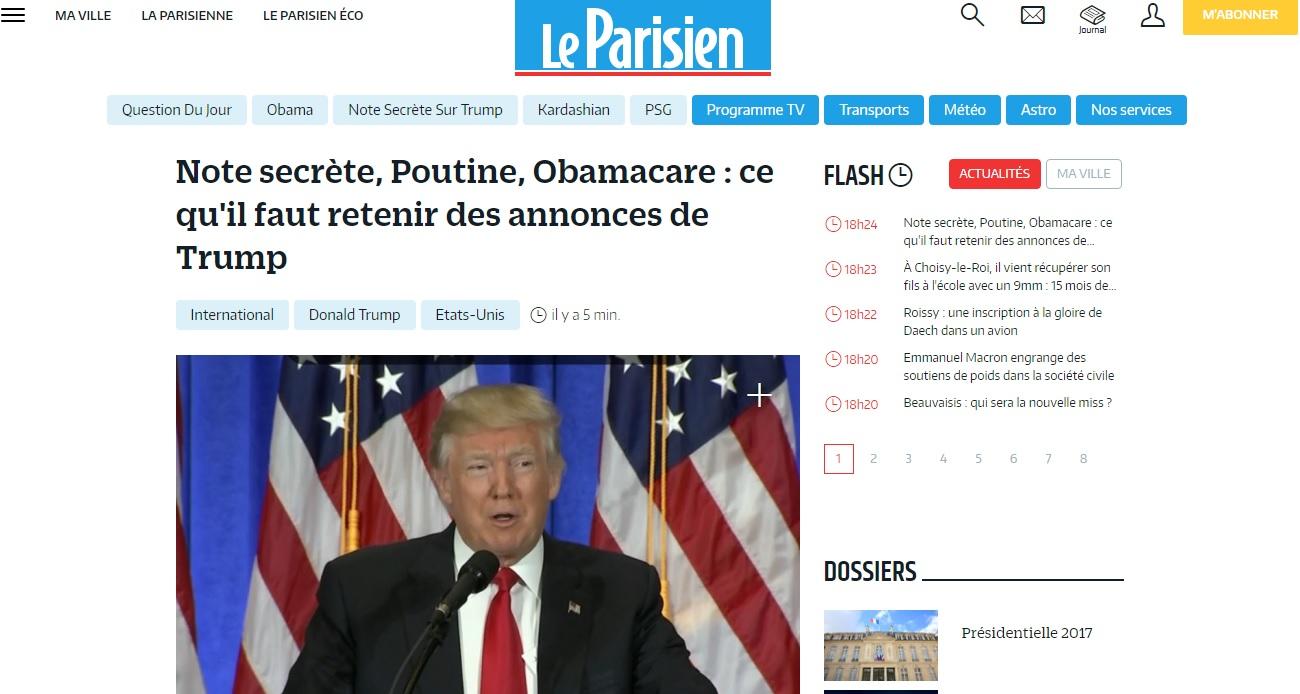 leparisien.fr Le Parisien Actualités et infos France News en ligne faits divers