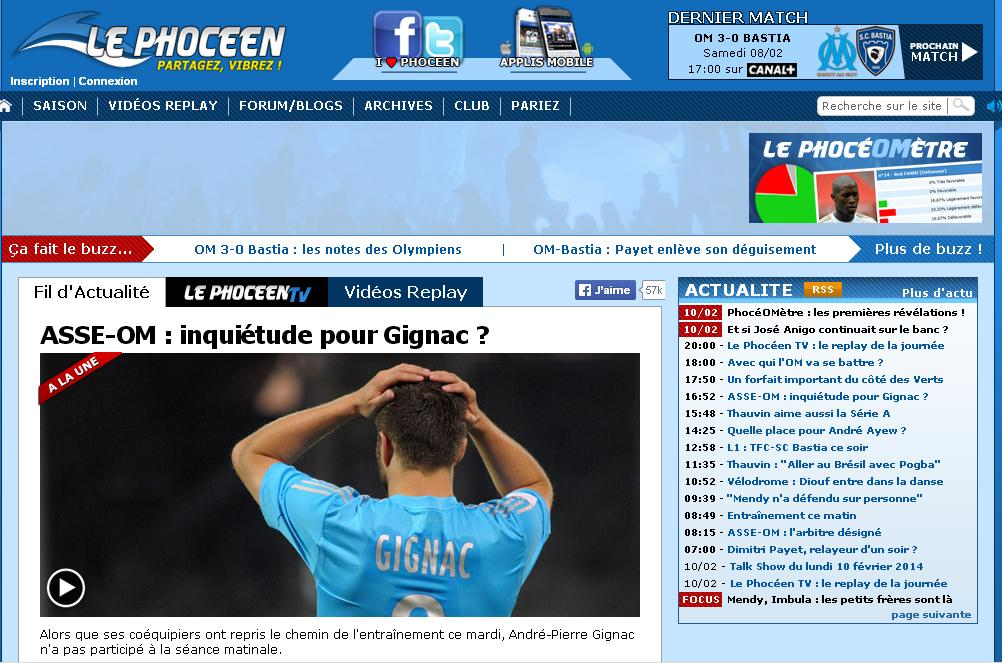 lephoceen.fr Olympique de Marseille actualité par Le Phocéen Mercato Infos et Transferts