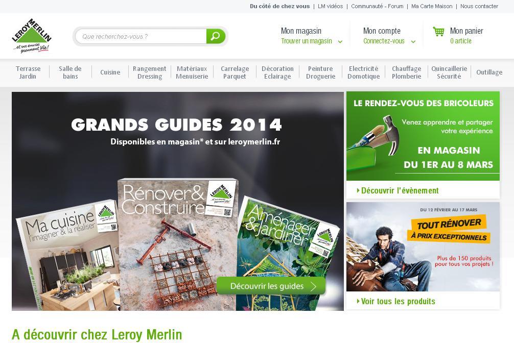 leroymerlin.fr Conseils et les idées pour le bricolage de Leroy Merlin décoration jardin cuisine