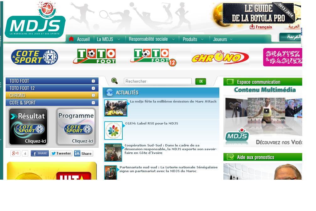 Sports Cote foot betting chrono loto résultats totofoot ma programme ...