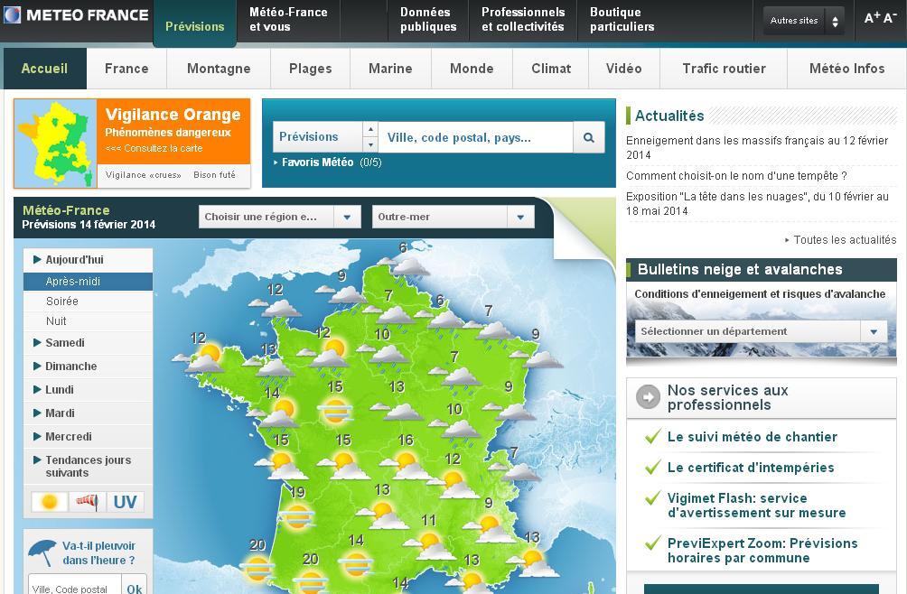 meteofrance.com Météo France Demain week end 10 jours Méteo De Samedi