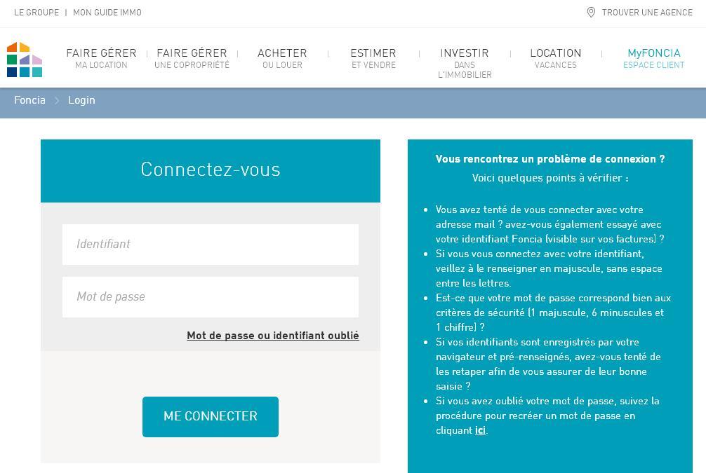 myfoncia.com MyFoncia Annonces d'immobilier en France achat vente et location de 600 agences