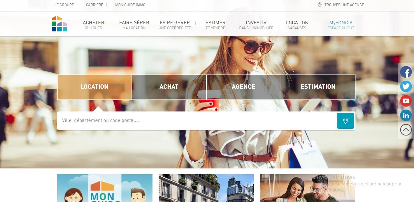 myfoncia.fr My Foncia Agence immobilière de Vente et Location Hotline compte en ligne