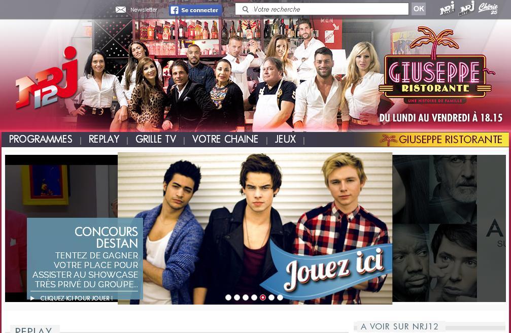 nrj12.fr chaîne TV NRJ Programmes émissions Replay en Direct Radio Live Le Mag