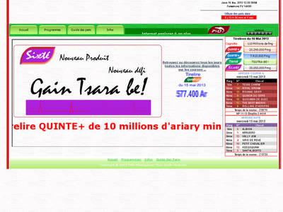 Pmu madagascar r sultat et pronostic du jour du - Teletoonplus gratuit ...
