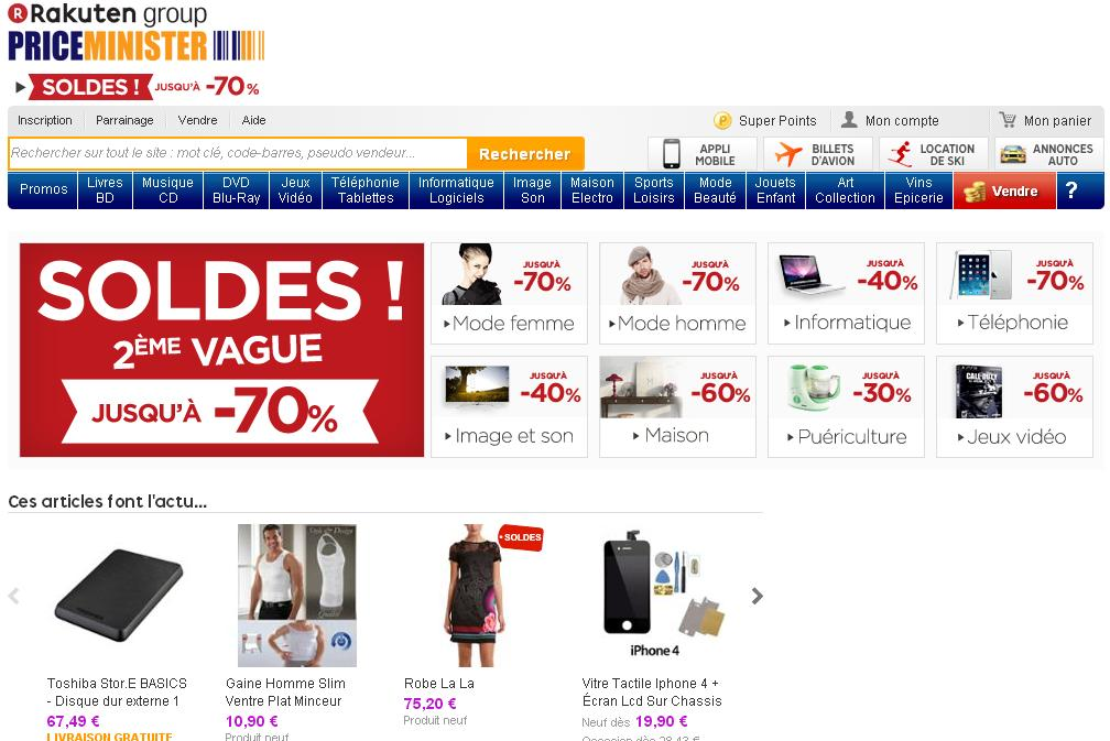 priceminister.com Achat et vente Price Minister neuf ou d'occasion