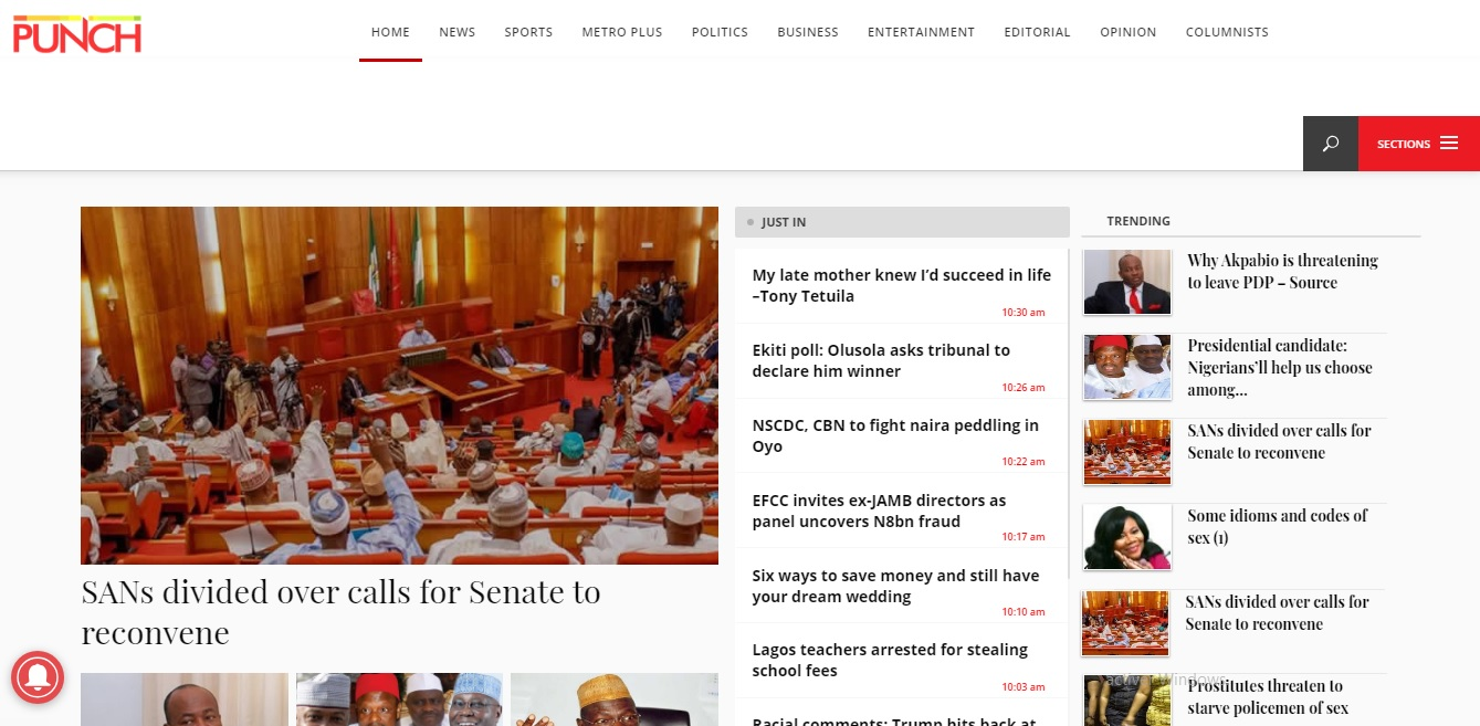 punchng.com : PUNCHNG The punchng breaking news in Nigeria ...