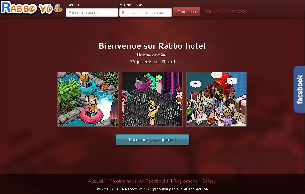 Rabbo jeux d 39 appartement h tel cr er ton avatar - Cree ton avatar et decore ton apparte ...