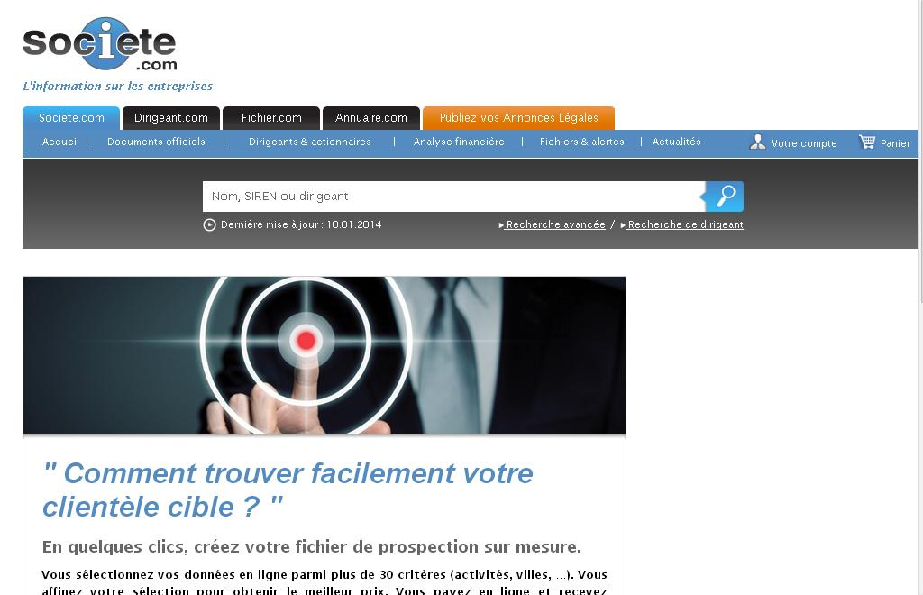 societe.com Société et Entreprises Info