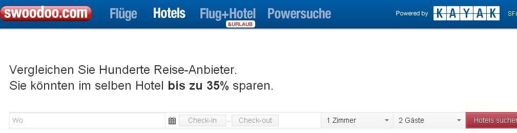 swoodoo.ch swoodoo Schweiz ch Tichets hotelvergleich valencia zürich prag englich hotel France app powersuche