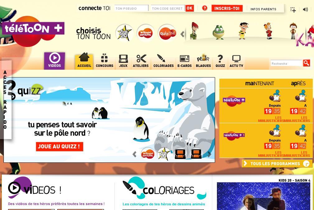 Jeux de teletoon plus - Teletoonplus gratuit ...